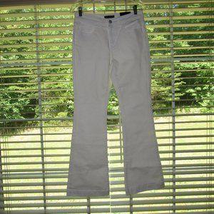 NWT BANANA REPUBLIC Wide Leg White Jeans Size 6P